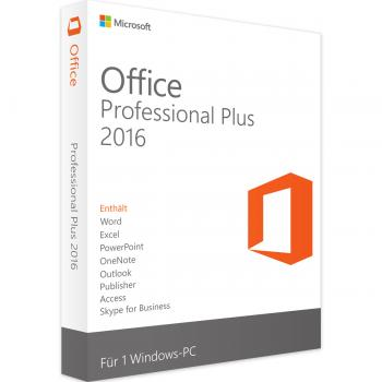 Microsoft Office 2016 Professional Plus - 1PC