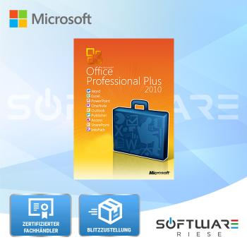 Microsoft Office 2010 Professional Plus - 1PC