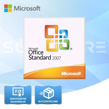 Microsoft Office 2007 Standard - 1PC
