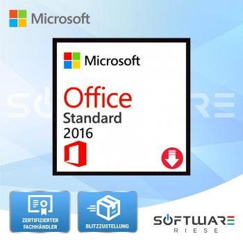 Microsoft Office 2016 Standard - 1PC