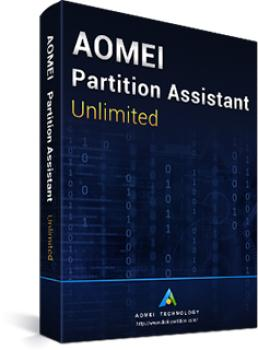 AOMEI Partition Assistant Unlimited Edition + Lebenslange Upgrades