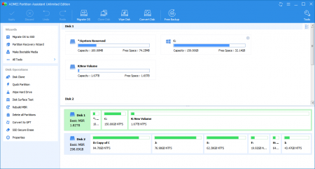 AOMEI Partition Assistant Unlimited Edition 9.1