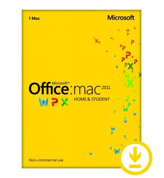 Microsoft Office 2011 Home and Student - MAC