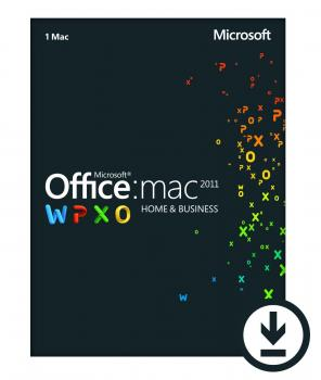 Microsoft Office 2011 Home and Business - MAC