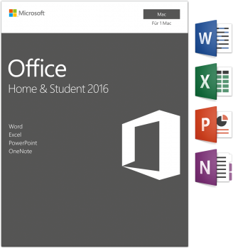 Microsoft Office 2016 Home and Student - MAC