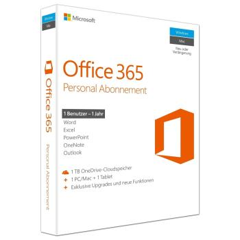 Microsoft Office 365 Personal - (PC oder MAC)