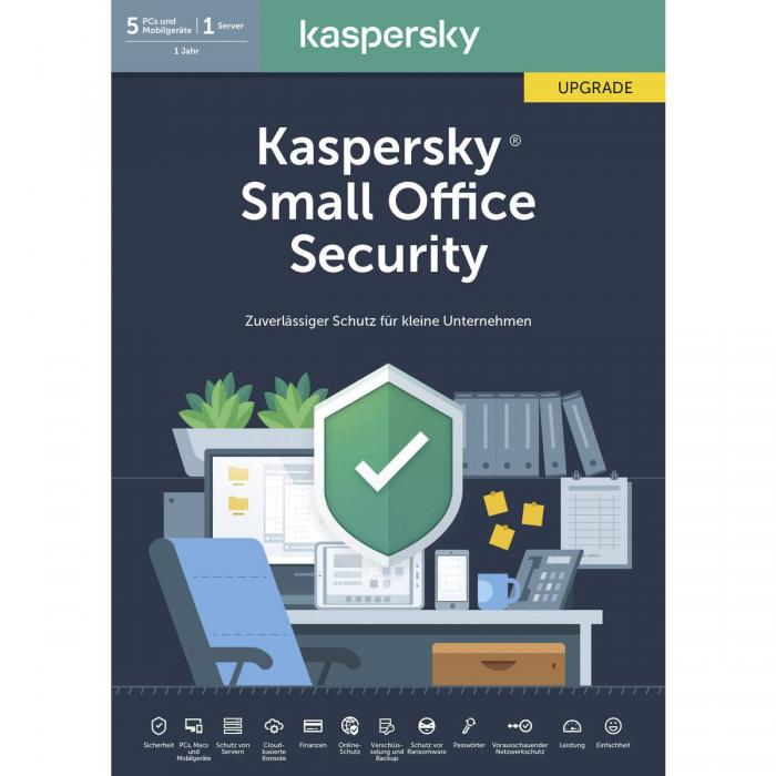 Kaspersky Small Office Security - 10PCs