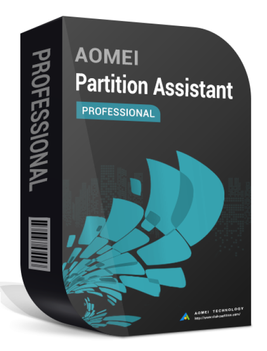 AOMEI Partition Assistant Professional 9.1 + Lebenslange Upgrades