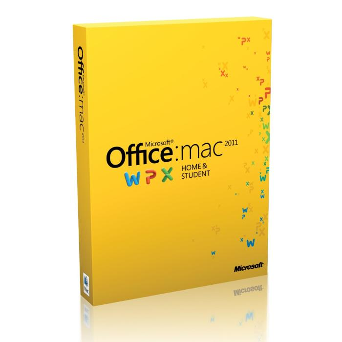 Microsoft Office 2011 Home and Student - macOS